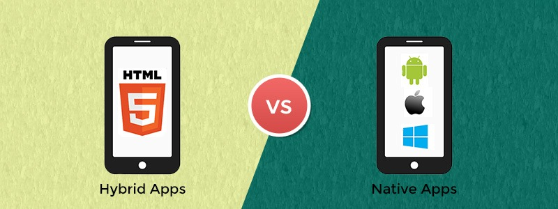 Hybrid Apps vs Native Apps in the Mobile App Development World