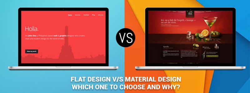 Flat Design vs Material Design – which one to choose and why?